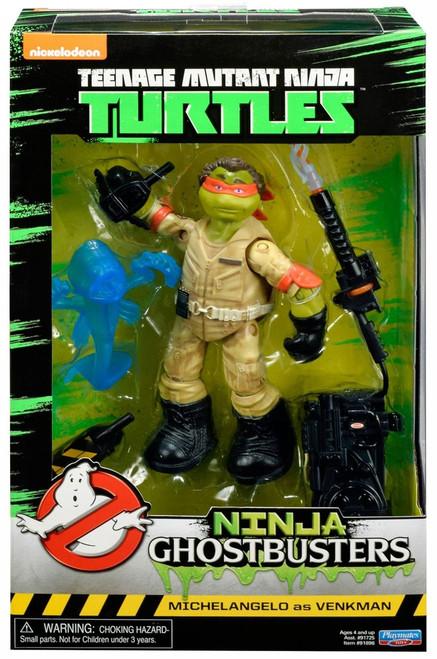 Teenage Mutant Ninja Turtles Ninja Ghostbusters Michelangelo as Venkman Action Figure