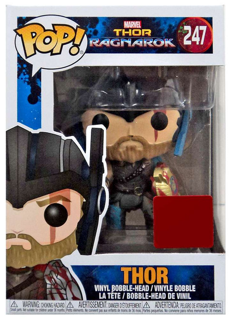 Funko Thor: Ragnarok POP! Marvel Thor Exclusive Vinyl Bobble Head #247 [Wearing Helmet]