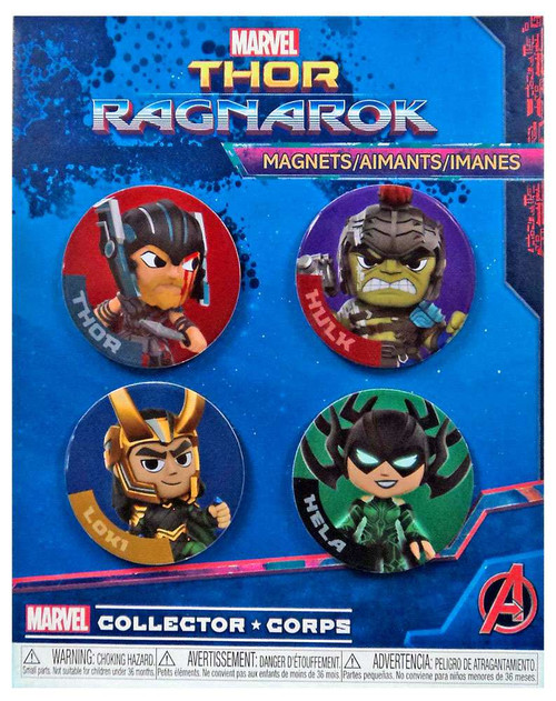 Funko Thor: Ragnarok Marvel Collector Corps Thor Ragnarok Exclusive Magnet Set