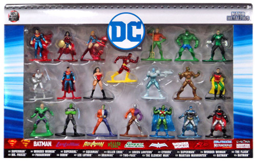 Nano Metalfigs DC Comics 1.5-Inch Diecast Figure 20-Pack [Version 1]