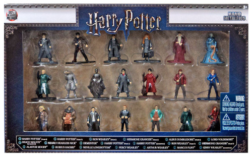 Nano Metalfigs Harry Potter 1.5-Inch Diecast Figure 20-Pack [Version 1]