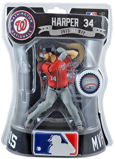 MLB Washington Nationals Bryce Harper Action Figure