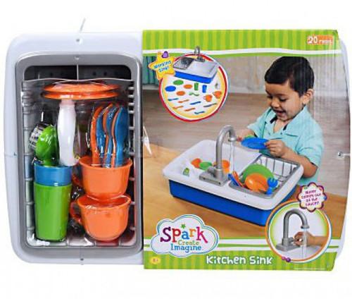 Spark Create Imagine Kitchen Sink Activity Set [Version 1, 2017]