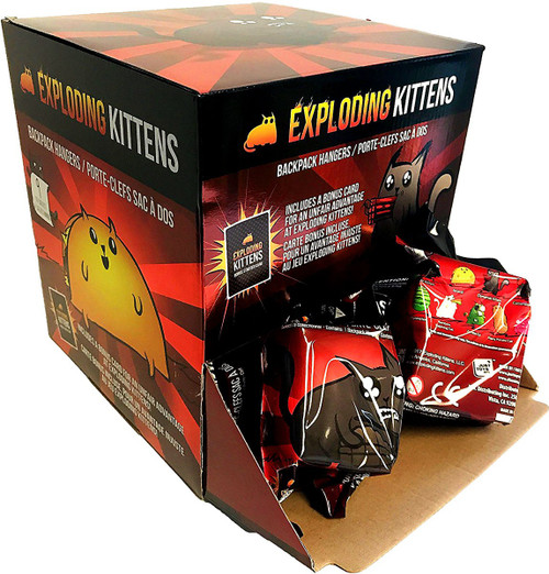 Exploding Kittens Hangers Mystery Box [24 Packs]