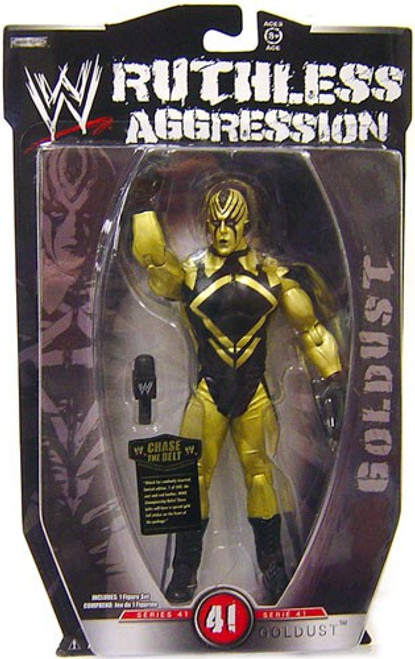 WWE Wrestling Ruthless Aggression Series 41 Goldust Action Figure