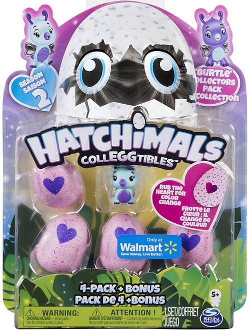 Hatchimals Colleggtibles Season 2 Burtle Exclusive Collectors 4-Pack & Bonus