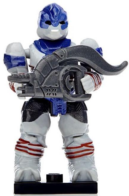 Mega Bloks Halo Reach Bravo Brute Minor 2-Inch Ultra Rare Minifigure [Blue Loose]