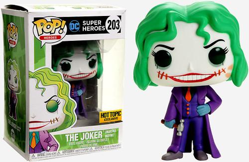 Funko DC Universe POP! Heroes The Joker Exclusive Vinyl Figure #203 [Martha Wayne]