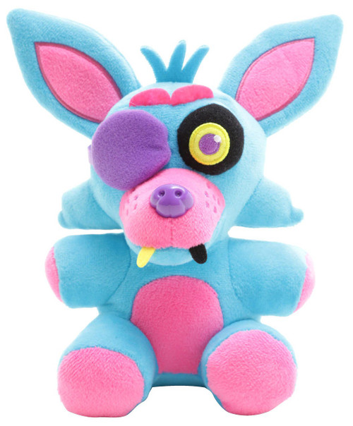 Funko Five Nights at Freddy's Blacklight Foxy 6-Inch Plushie [Blue]