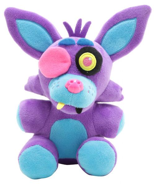 Funko Five Nights at Freddy's Blacklight Foxy 6-Inch Plushie [Purple]