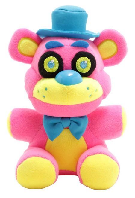 Funko Five Nights at Freddy's Blacklight Freddy 6-Inch Plushie [Pink]