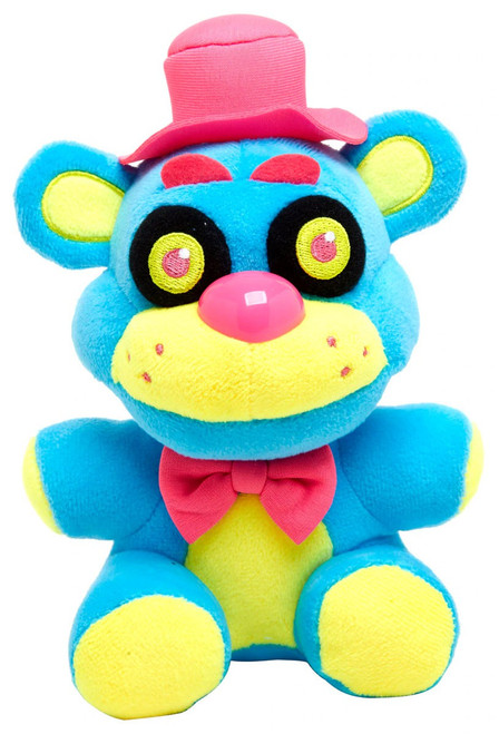 Funko Five Nights at Freddy's Blacklight Freddy 6-Inch Plushie [Blue]