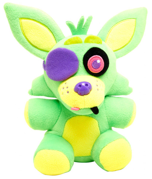 Funko Five Nights at Freddy's Blacklight Foxy 6-Inch Plushie [Green]