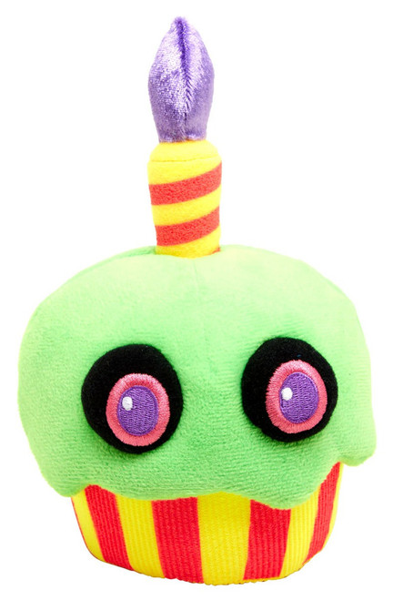 Funko Five Nights at Freddy's Blacklight Cupcake 6-Inch Plushie [Green]