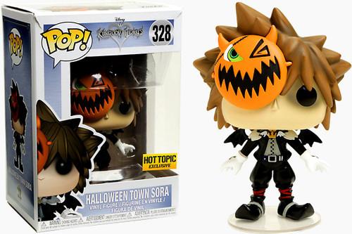 Funko Kingdom Hearts POP! Disney Halloween Town Sora Exclusive Vinyl Figure #328