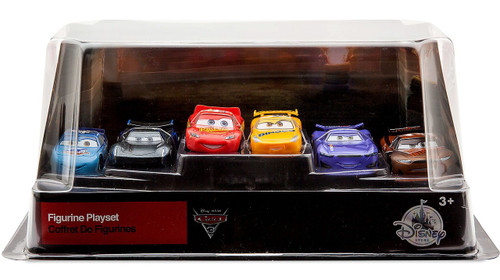 Disney / Pixar Cars Cars 3 6 Piece PVC Figurine Playset [Includes Jackson Storm & Tim Treadless]