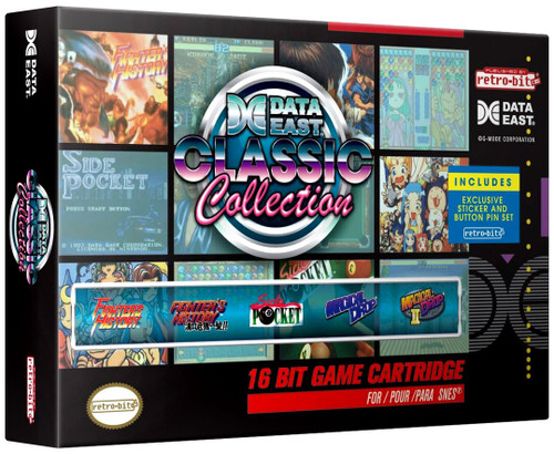 SNES Data East Classic Collection Video Game Cartridge [5 Games]