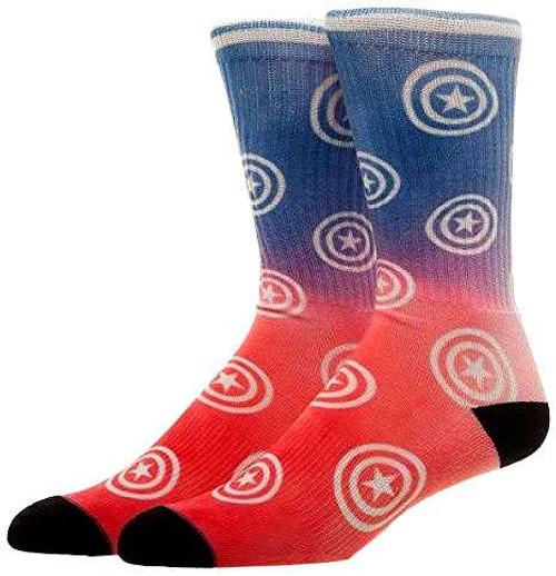 Marvel Captain America Crew Socks