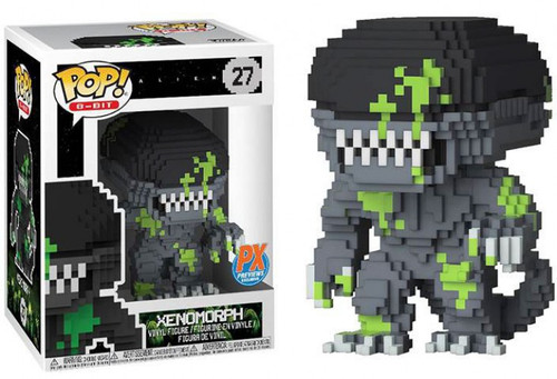 Funko Alien POP! 8-Bit Xenomorph Exclusive Vinyl Figure #27 [Blood Splattered]