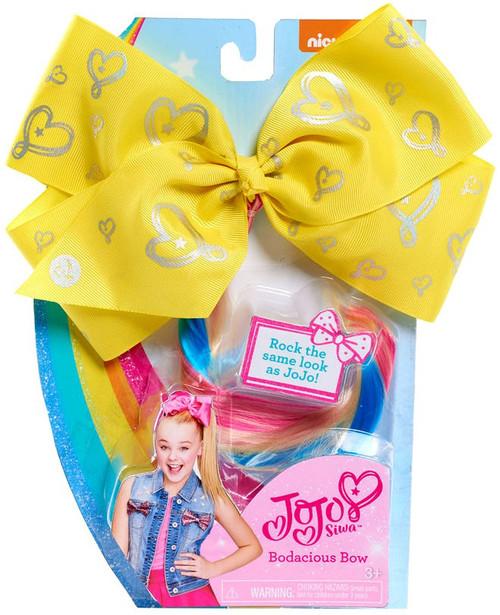 Nickelodeon JoJo Siwa Bodacious Hair Bow Dress Up Toy [Yellow]