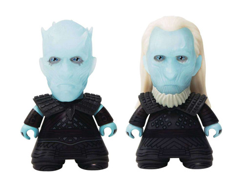 Ttians Game of Thrones Night King & White Walker Exclusive 3-Inch Vinyl Figure [NYCC Excusive]