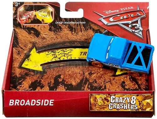 Disney / Pixar Cars Cars 3 Crazy 8 Crashers Broadside Vehicle