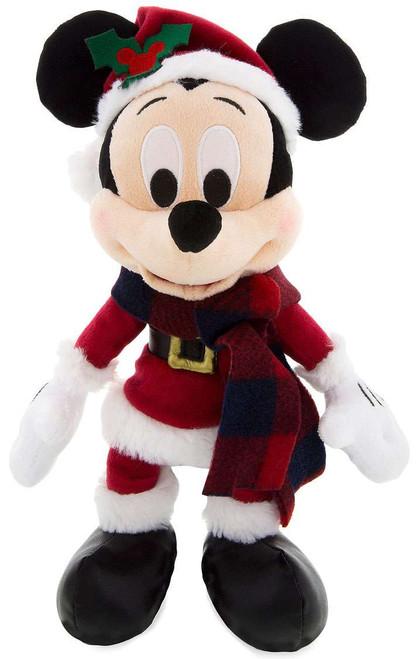 Disney 2017 Holiday Mickey Mouse Exclusive 9-Inch Plush [Santa Retro]