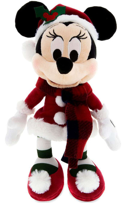 Disney 2017 Holiday Minnie Mouse Exclusive 9-Inch Plush [Santa Retro]