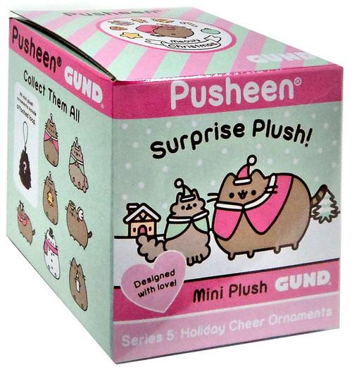 Pusheen Series 5 Holiday Cheer Ornaments Mystery Box [24 Packs]