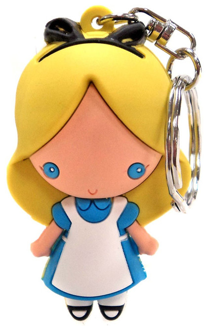 3D Figural Keychain Disney Series 3 Alice Key Ring [Loose]