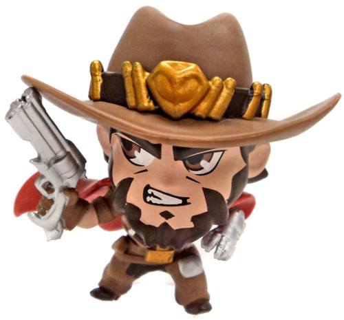 Cute But Deadly Overwatch Series 3 McCree Minifigure [Loose]