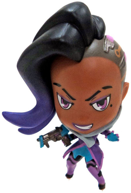 Cute But Deadly Overwatch Series 3 Sombra Minifigure [Loose]