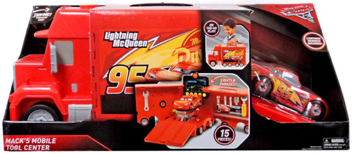 Disney / Pixar Cars Cars 3 Mack's Mobile Tool Center Exclusive Playset