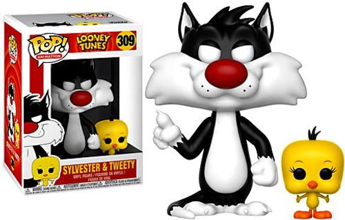 Funko Looney Tunes POP! Animation Sylvester & Tweety Vinyl Figure #309
