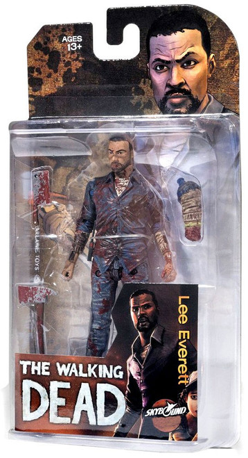 McFarlane Toys The Walking Dead Comic Lee Everett Exclusive Action Figure [Bloody]