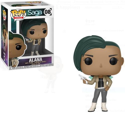 Funko Saga POP! Comics Alana Vinyl Figure #08 [with Gun]