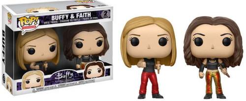 Funko Buffy The Vampire Slayer POP! TV Buffy & Faith Exclusive Vinyl Figure 2-Pack