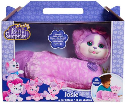 Kitty Surprise Josie & Her Kittens Plush Toy