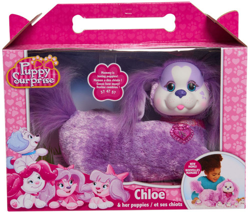 Puppy Surprise Chloe & Her Puppies Plush Toy