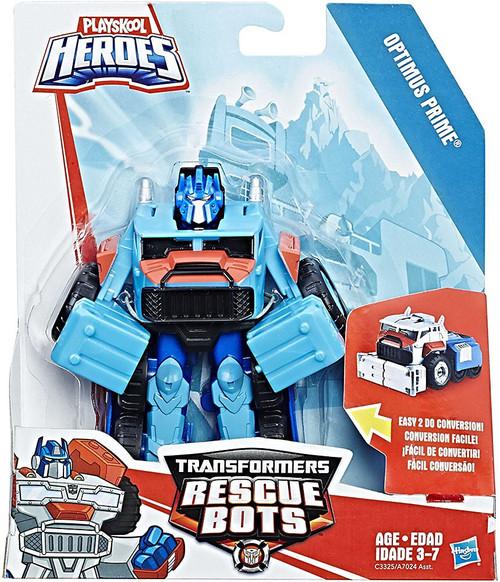 Transformers Playskool Heroes Rescue Bots Optimus Prime Action Figure [2017]