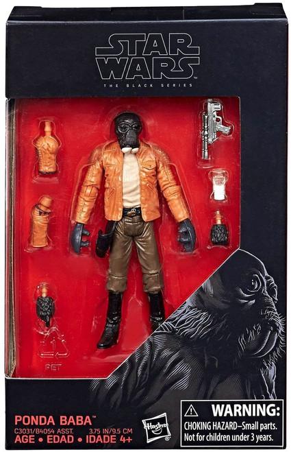 Star Wars Black Series Ponda Baba Exclusive Action Figure