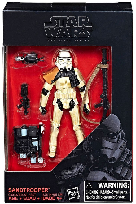 Star Wars Black Series Sandtrooper Exclusive Action Figure