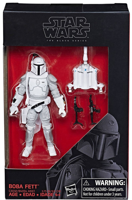 "Star Wars Black Series Boba Fett Exclusive Action Figure [Prototype Armor, 3.75""]"