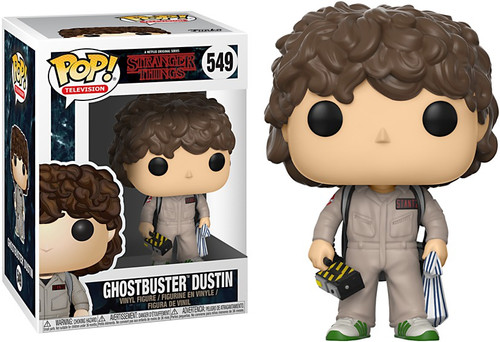 Funko Stranger Things POP! TV Ghostbuster Dustin Vinyl Figure #549