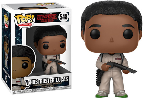 Funko Stranger Things POP! TV Ghostbuster Lucas Vinyl Figure #548