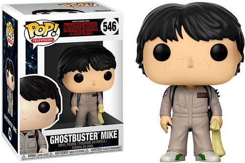 Funko Stranger Things POP! TV Ghostbuster Mike Vinyl Figure #546