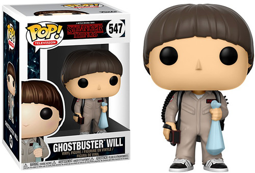 Funko Stranger Things POP! TV Ghostbuster Will Vinyl Figure #547