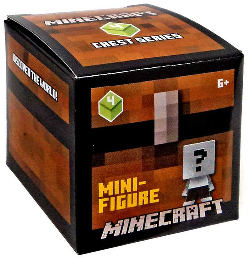 Minecraft Chest Series 4 (Green) Mystery Pack
