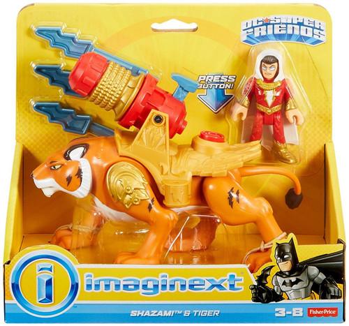 Fisher Price DC Super Friends Imaginext Shazam! & Tiger 3-Inch Figure Set