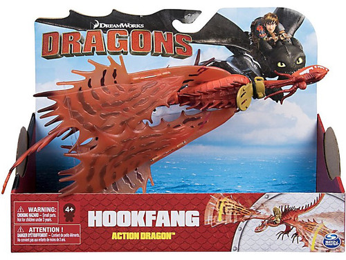 How to Train Your Dragon Dragons Action Dragon Hookfang Action Figure [Secret Wing Attack!]